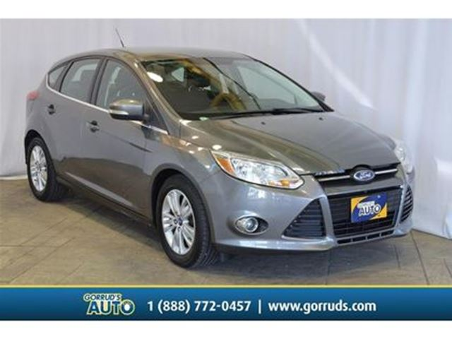 2012 FORD Focus SEL/HATCHBACK/HEATED SEATS/CRUISE/AUTO in Milton, Ontario