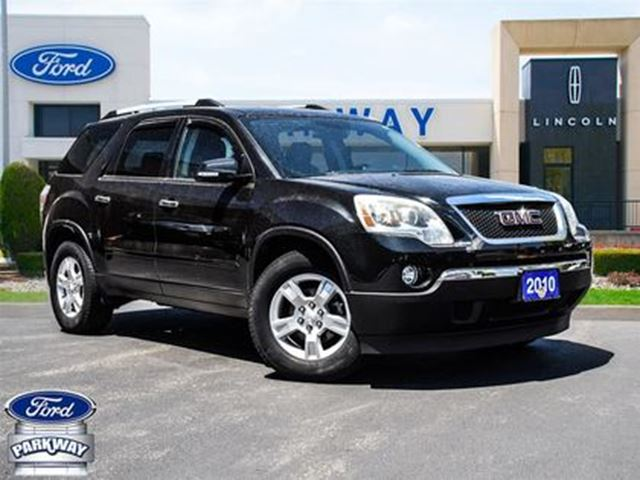 2010 GMC ACADIA SLE2 FWD  ACCIDENT FREE  AS-IS in Waterloo, Ontario