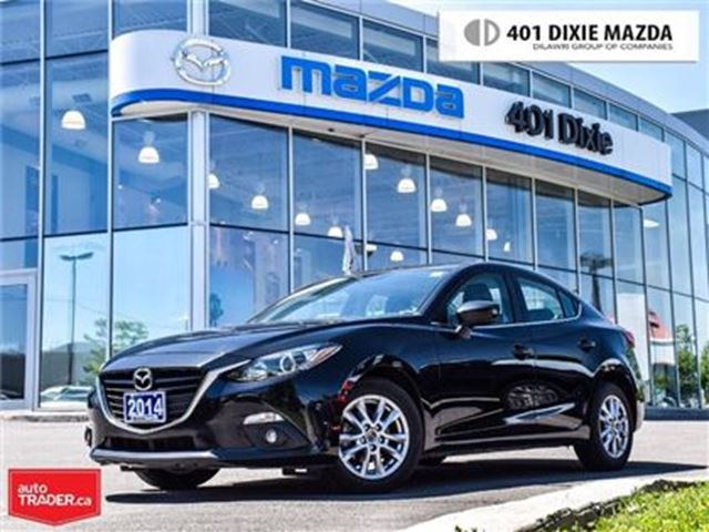 2014 MAZDA MAZDA3 GS-SKY,1.9% AVAILABLE, ONE OWNER, NO ACCIDENTS in Mississauga, Ontario