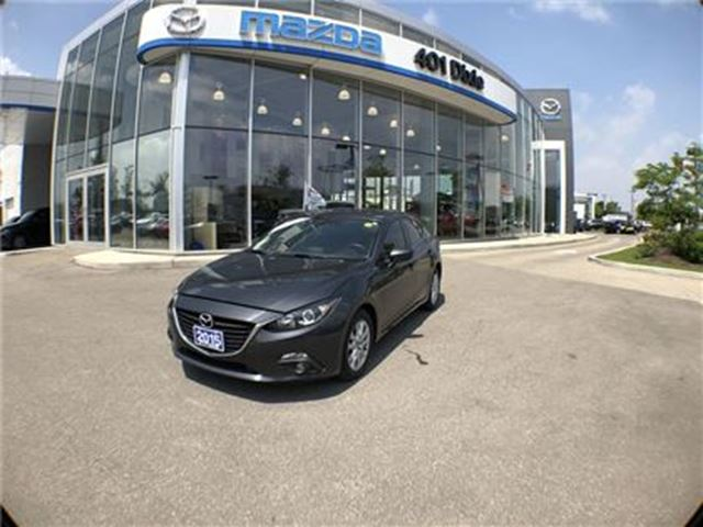 2015 MAZDA MAZDA3 GS,1.9 FINANCE AVAILABLE, NO ACCIDENTS, in Mississauga, Ontario