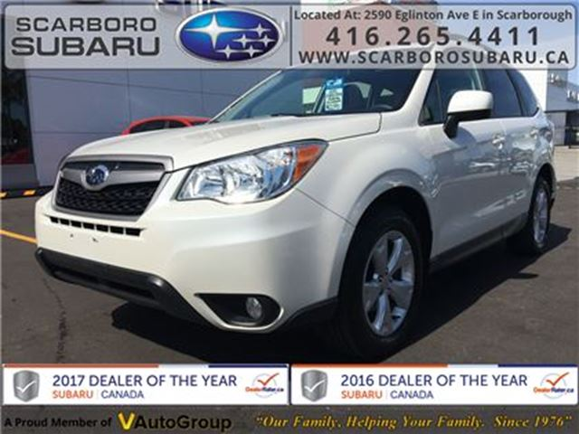 2015 SUBARU Forester 2.5i Touring PKG, FROM 1.9% FINANCING AVAILABLE in Scarborough, Ontario