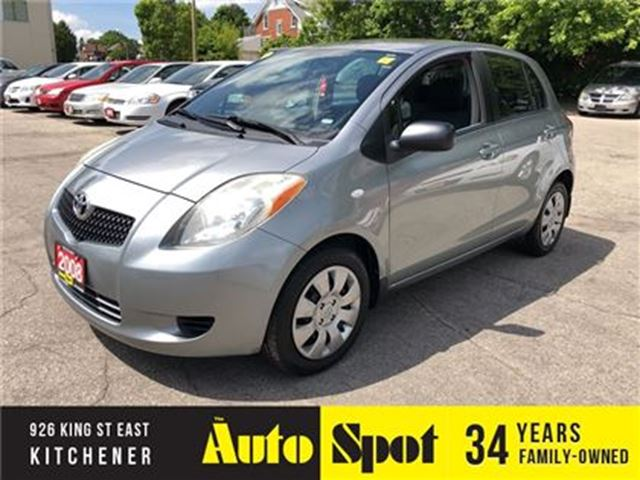2008 TOYOTA YARIS LE/LOW, LOW KMS/ PRICED - QUICK SALE ! in Kitchener, Ontario