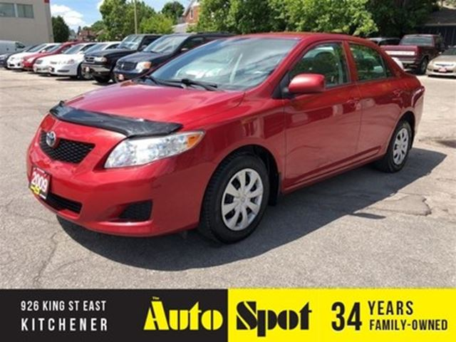 2009 TOYOTA COROLLA CE/MINT CAR/PRICED FOR A QUICK SALE ! in Kitchener, Ontario