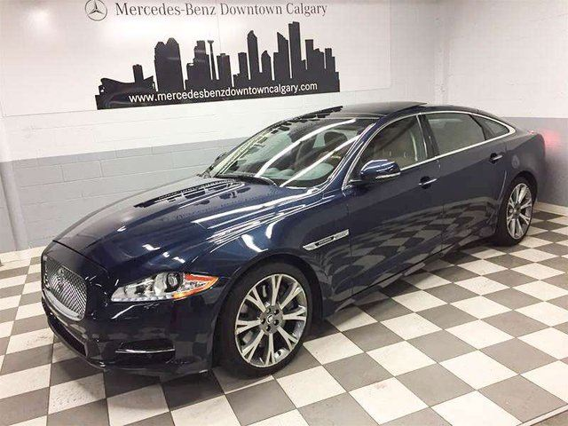 2011 JAGUAR XJ Series XJ Supercharged in Calgary, Alberta