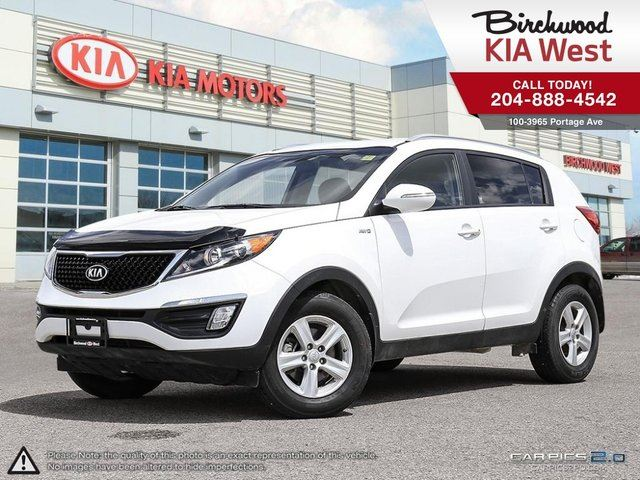 2015 KIA SPORTAGE LX AWD! Local Trade! Great Condition! in Winnipeg, Manitoba