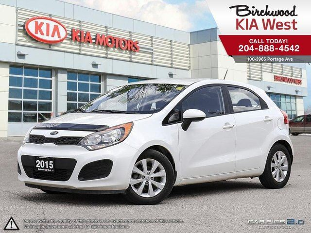 2015 KIA RIO LX+ Automatic! Local Trade! Great Gas Mileage! in Winnipeg, Manitoba