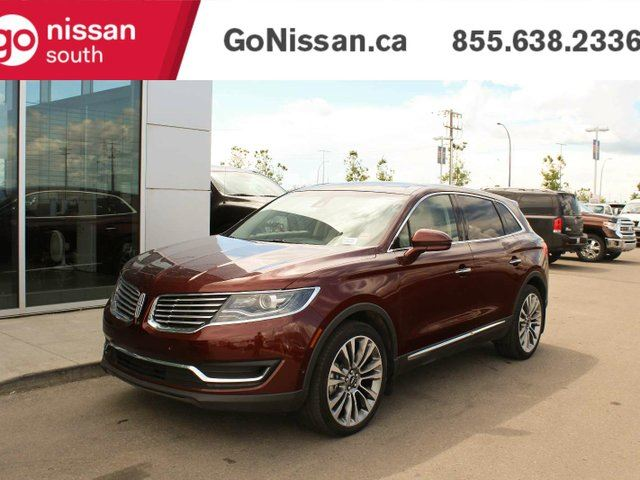 2016 LINCOLN MKX RESERVE: NAVIGATION, PANORAMIC ROOF, GREAT SHAPE! in Edmonton, Alberta