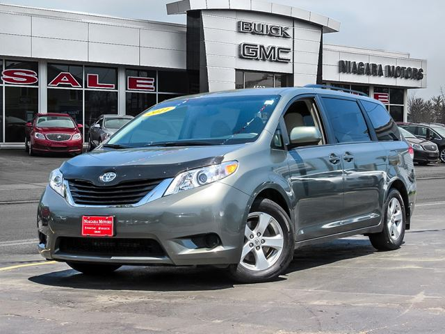 2011 TOYOTA SIENNA LE 8 PASSENGER ..6 CYLINDER FWD.. in Virgil, Ontario