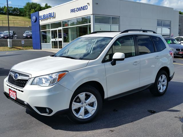 2015 SUBARU FORESTER 2.5i Convenience PZEV in Kitchener, Ontario