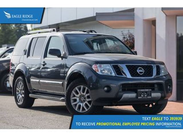 2010 NISSAN PATHFINDER Sunroof, Heated Seats, Heated Steering Wheel in Coquitlam, British Columbia