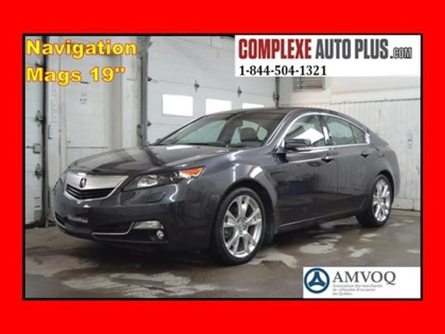2014 Acura TL Elite SH-AWD *Navi/GPS, Mags 19 po. in Saint-Jerome, Quebec