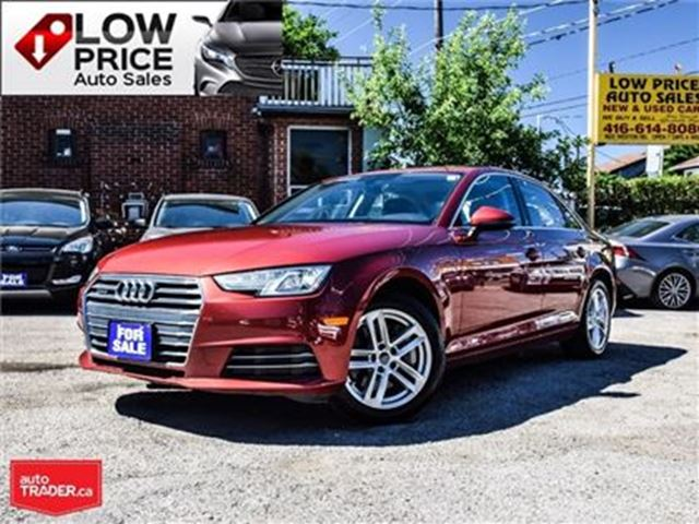 2017 AUDI A4 AWD*Leather*DriveSelect*Sunroof*AudiWarranty* in Toronto, Ontario