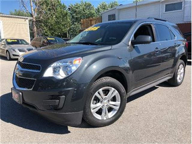 2014 CHEVROLET EQUINOX 1LT SUNROOF BACK UP CAMERA in St Catharines, Ontario