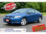 2013 Honda Civic AUTO A/C HTD SEATS ONLY 31,000 KM in Ottawa, Ontario