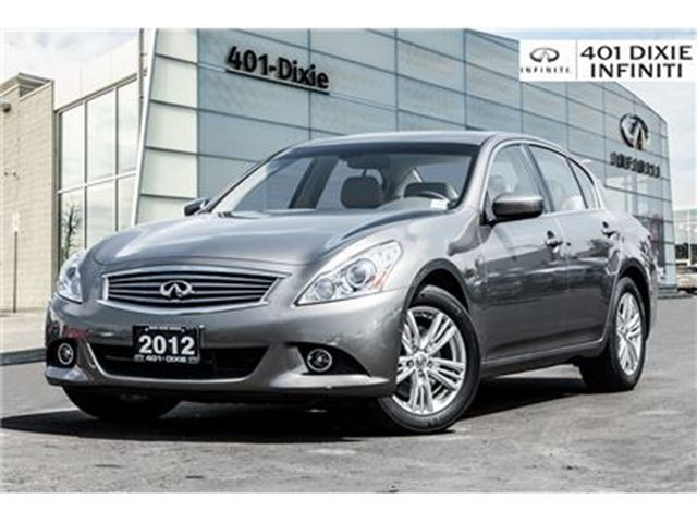 2012 INFINITI G37 x AWD! LOW MILEAGE! NAVI! BACKUP CAM! MOONROOF! in Mississauga, Ontario