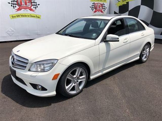 2010 MERCEDES-BENZ C-CLASS 300, Automatic, Leather, Sunroof, AWD, 65,000km in Burlington, Ontario
