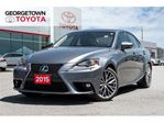 2015 Lexus IS 250 Base AWD BACK UP CAM NAVIGATION A/C SEATS in Georgetown, Ontario