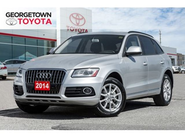2014 AUDI Q5 2.0 ALL WHEEL DRIVE HEATED SEATS LEATHER in Georgetown, Ontario