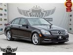 2011 Mercedes-Benz C-Class C350 4MATIC AMG PKG NAVIGATION LEATHER SUNROOF BACK-UP in Toronto, Ontario