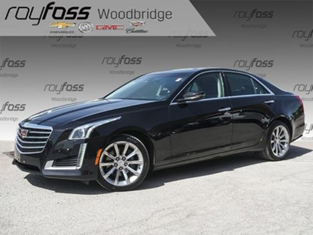 2017 CADILLAC CTS 3.6L Luxury VENTED SEATS, NAV, BACKUP CAM in Woodbridge, Ontario