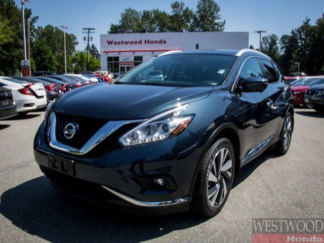 2017 NISSAN MURANO Platinum in Port Moody, British Columbia