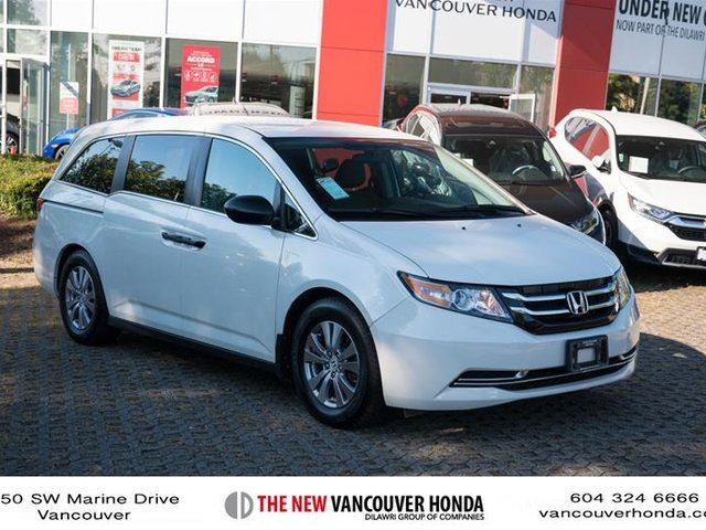 2014 HONDA Odyssey SE in Vancouver, British Columbia
