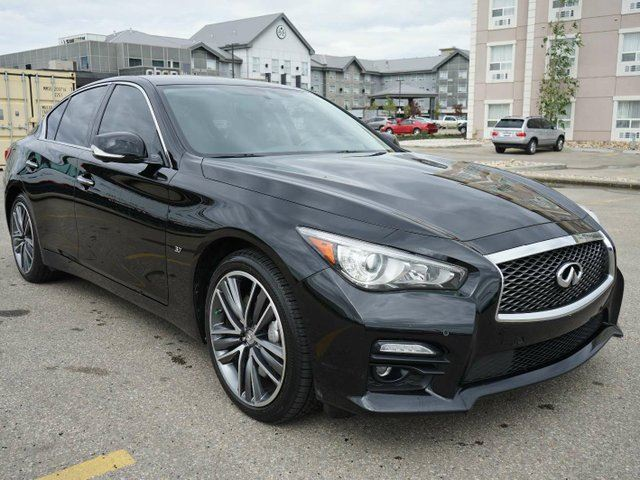 2014 INFINITI Q50 AWD Sport Premium | Deluxe Touring and Technology Package in Edmonton, Alberta