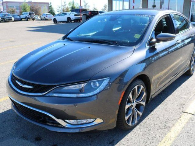 2015 CHRYSLER 200 AWD C Accident Free, Navigation (GPS), Heated Seats, Back-up Cam, Bluetooth, A/C, - Edmonton in Sherwood Park, Alberta