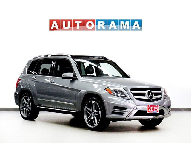 2015 MERCEDES-BENZ GLK-Class GLK350 NAVIGATION LEATHER PANORAMIC SUNROOF 4WD in North York, Ontario