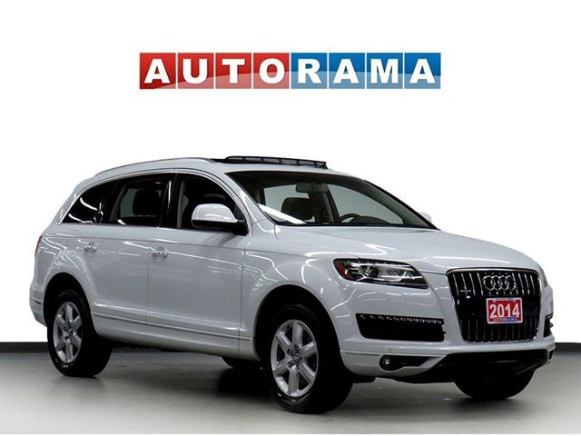 2014 AUDI Q7 NAVIGATION LEATHER PAN SUNROOF 7 PASSENGER 4WD in North York, Ontario