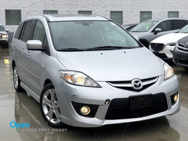 2008 MAZDA MAZDA5 GT A/T Local One Owner CD Player AUX Leather Su in Port Moody, British Columbia