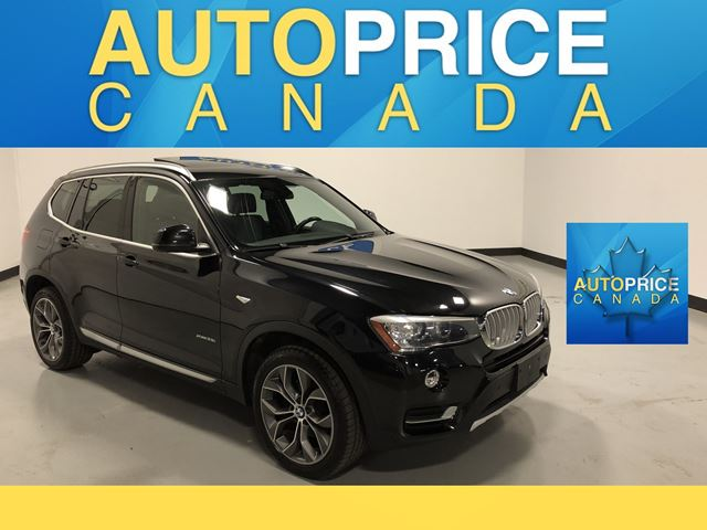 2015 BMW X3 xDrive28i NAVIGATION|PANOROOF|LEATHER in Mississauga, Ontario