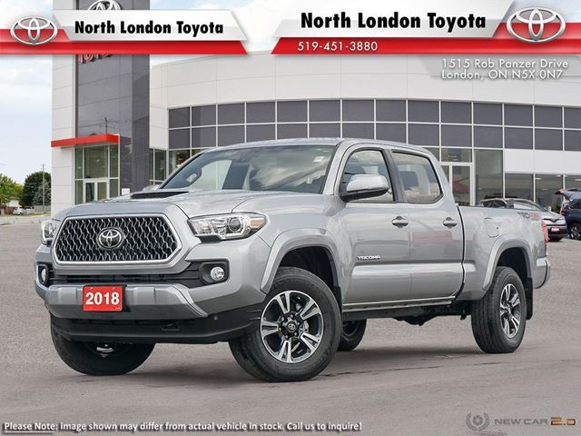 2018 TOYOTA TACOMA SR5 TRD Sport Package in London, Ontario