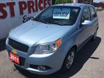 2011 Chevrolet Aveo LS SUPER CLEAN, GREAT FUEL ECONOMY! in Oshawa, Ontario