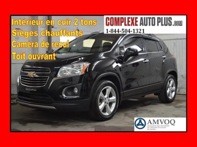 2016 Chevrolet Trax LTZ AWD 4x4 *Cuir 2 tons,Toit,Camera recul in Saint-Jerome, Quebec