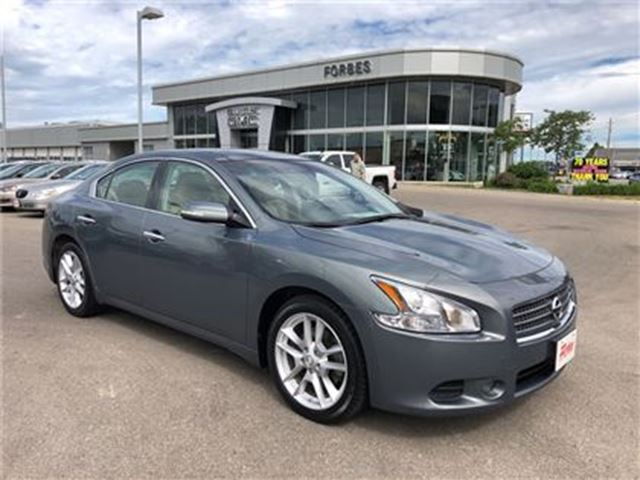 2009 Nissan Maxima SV \ LEATHER \ LOW KMS \ NAV \ in Waterloo, Ontario