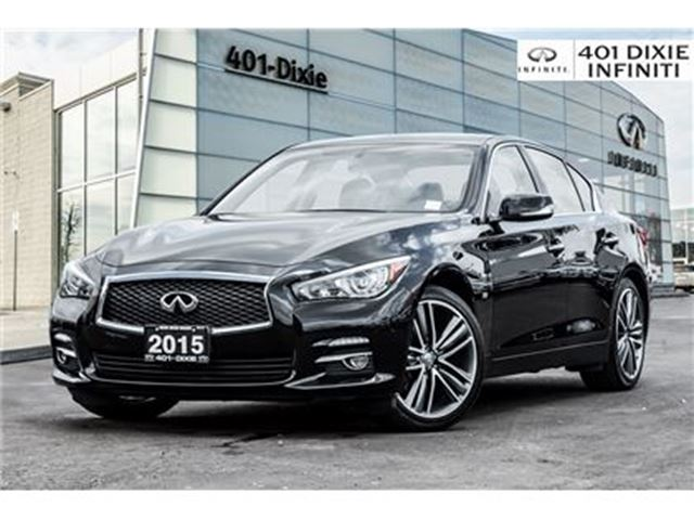 2015 INFINITI Q50 SPORT RIMS! NAVIGATION! BACKUP CAM! in Mississauga, Ontario