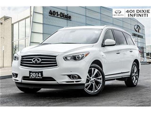 2014 INFINITI QX60 WOW! HYBRID! TECH! DVD! NAVI! LOW KMS! in Mississauga, Ontario