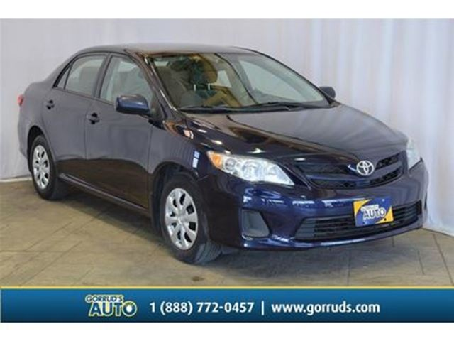 2013 TOYOTA Corolla CE/POWER WINDOWS/MANUAL/AC/CD in Milton, Ontario