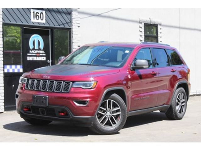 2017 JEEP GRAND CHEROKEE Trailhawk*Luxury Edition*Full Leather*Adaptive Cru in Mississauga, Ontario