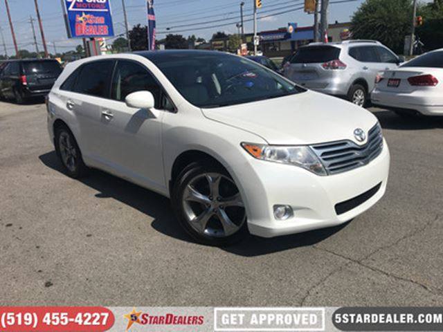 2010 TOYOTA VENZA V6   LEATHER   NAV   ROOF   AWD in London, Ontario