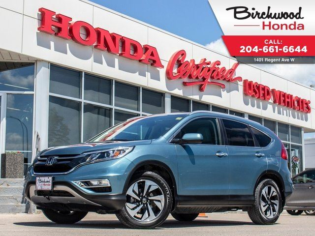 2015 HONDA CR-V Touring AWD in Winnipeg, Manitoba