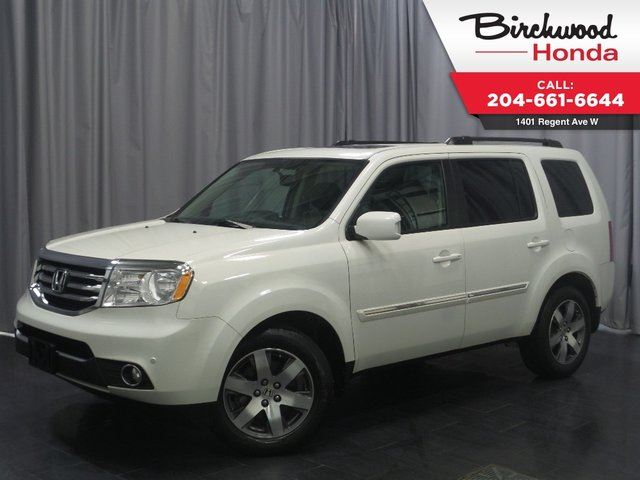 2015 HONDA PILOT Touring 4WD in Winnipeg, Manitoba