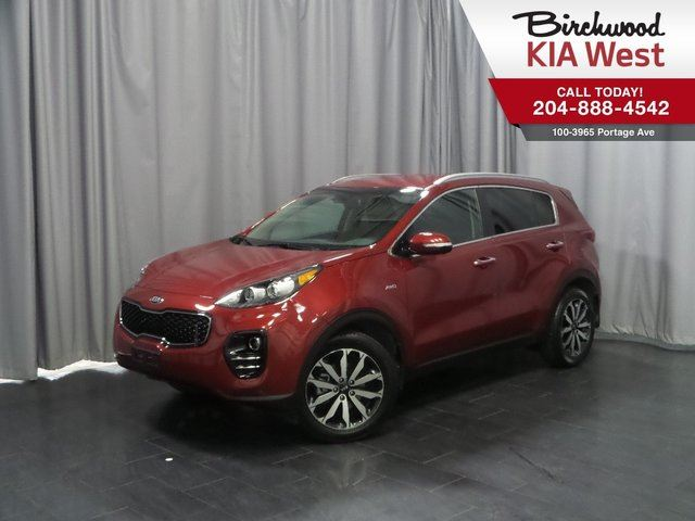 2017 KIA SPORTAGE EX Heated Seats! Low KMS! in Winnipeg, Manitoba