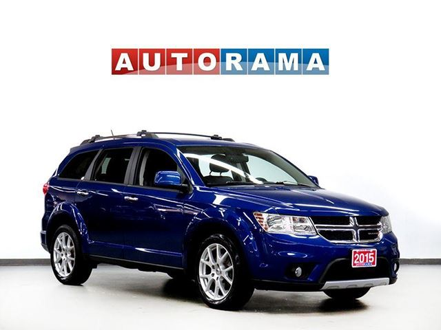 2015 Dodge Journey RT 4WD LEATHER 7 PASSENGER BACKUP CAMERA in North York, Ontario