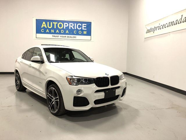 2015 BMW X4 xDrive28i M-SPORT PKG|NAVIGATION|MOONROOF in Mississauga, Ontario