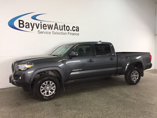 2018 TOYOTA TACOMA SR5 - AUTO! HITCH! HEATED SEATS! REVERSE CAM! LKA! in Belleville, Ontario