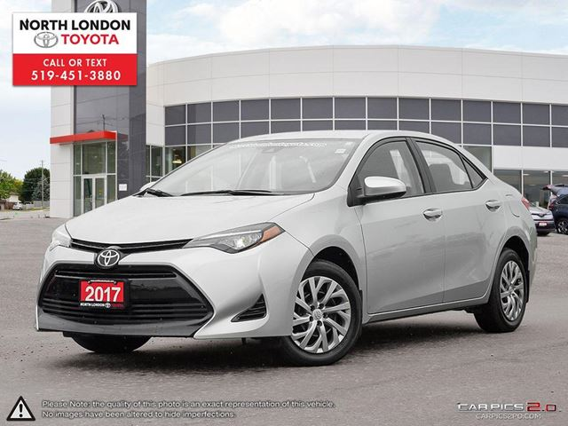 2017 TOYOTA COROLLA LE One Owner, Serviced by Toyota Dealers, No Accidents in London, Ontario