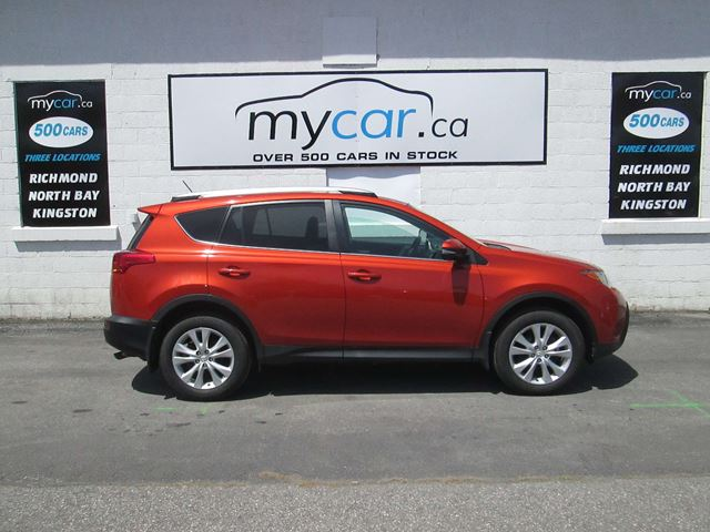 2015 TOYOTA RAV4 Limited LIMITED, LEATHER, SUNROOF, NAVIGATION!! in North Bay, Ontario