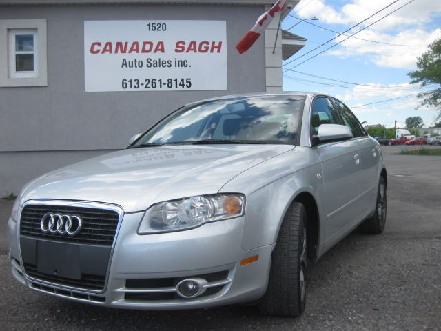 2006 AUDI A4 2.0T, LEATHER, SUNROOF, FULL LOAD, 12 M WRTY+SAFETY in Ottawa, Ontario